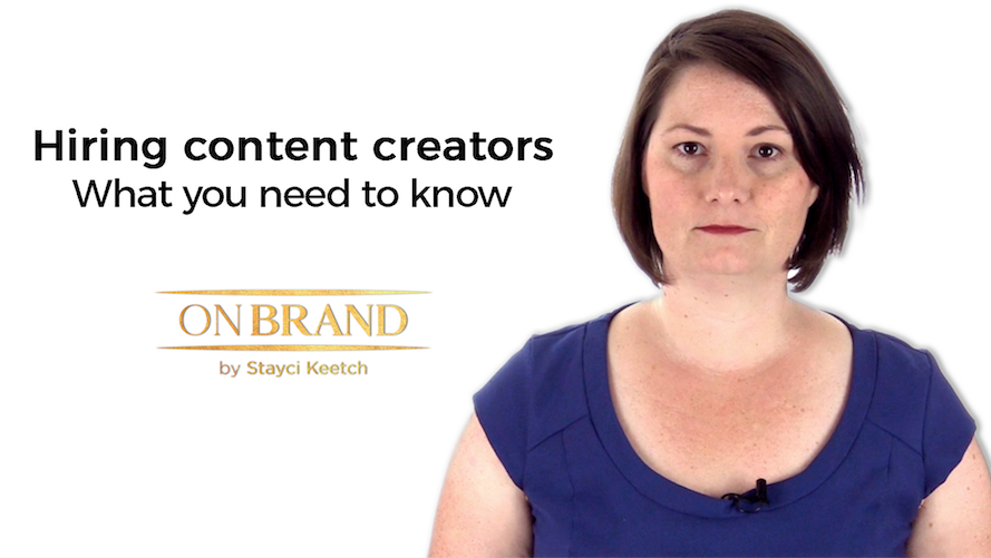 Content Creators – What you need to know before you hire.